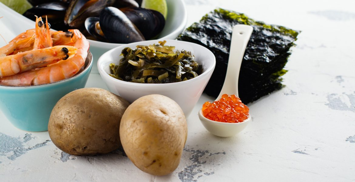 FOODS THAT ARE RICH IN IODINE-min